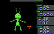 Dancing ant
