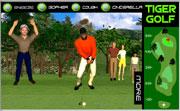 Tiger golf