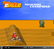 Moto cross champion
