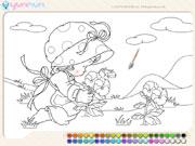 Coloriage enfant