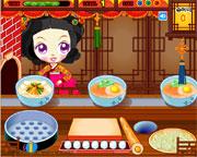 Manger asiatique
