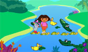 Dora et le lac