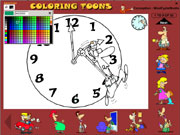 Coloring toons