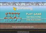 Kitty throw