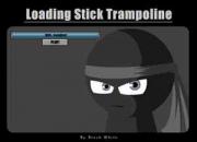Stick trampoline