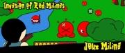 Invasion of red mili