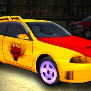 Flash tuning car