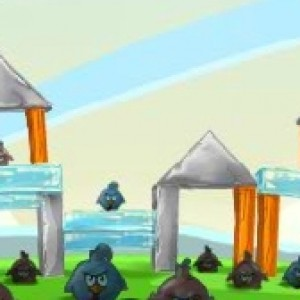 Angry birds chicken house
