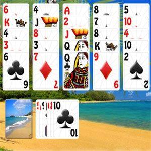 Sunny beach solitaire