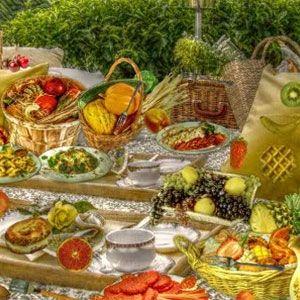 Carefree picnic