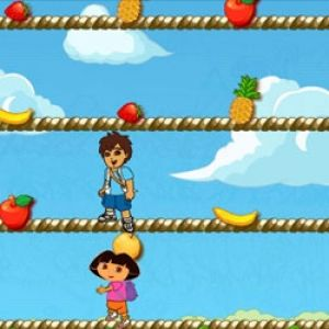 Dora pick fruits