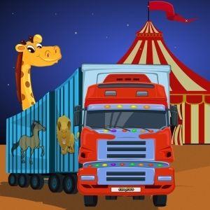 Circus caravan parking