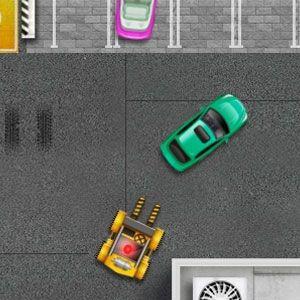 Auto repair parking