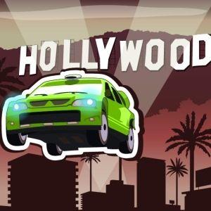 Hollywood skyscrapers racing